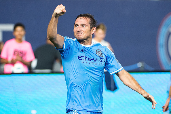 Frank Lampard has more than made up for his lacklustre season last year. (Photo by Michael Stewart/Getty Images)