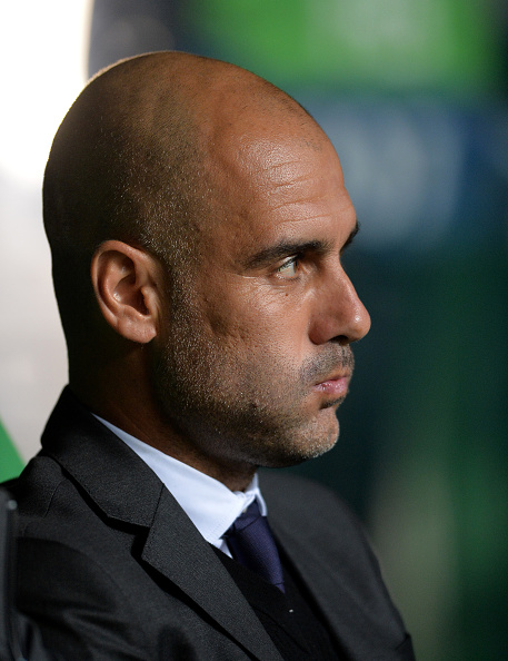 Pep Guardiola's first season in the English top flight could very well end in presumptuous glory. (Photo by Mark Runnacles/Getty Images)
