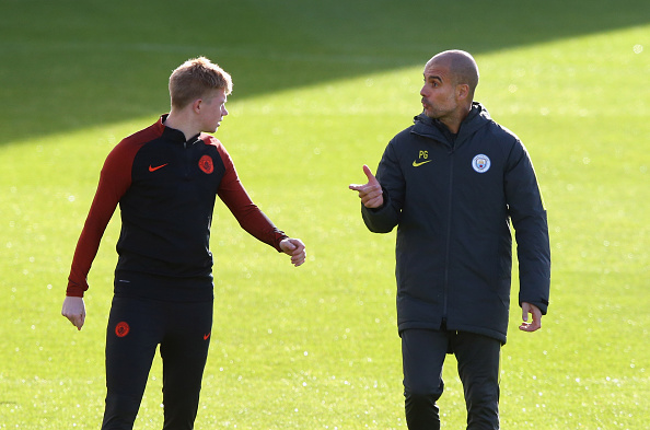 De Bruyne will be the key provider for Man City against Barca. (Photo by Alex Livesey/Getty Images)
