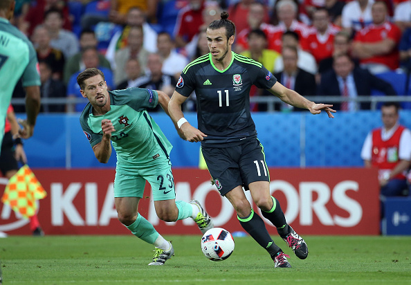 In the end, Gareth Bale's supremely taken long shots could only be lauded, as the Welshman could not carry the team on his shoulders for this one game.  (Photo Jean Catuffe/Getty Images)