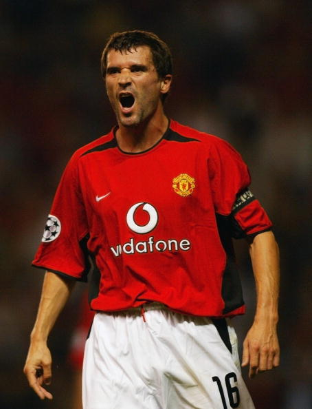 Roy Keane was an effervescent presence in the United dressing room. (Photo by Ben Radford/Getty Images)