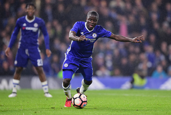 Kante has been a phenomenal player for Chelsea, but in recent games has suffered a dip in form, particularly in terms of ball distribution. Is a rest earlier today all he may have needed? (Photo by Darren Walsh/Getty Images)