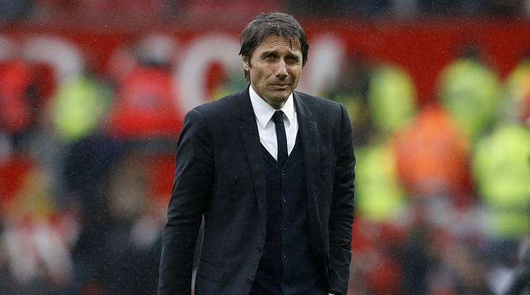 Conte's path to a Premier League title got a bit more complicated against United on Sunday. PHOTO CREDIT: Reuters