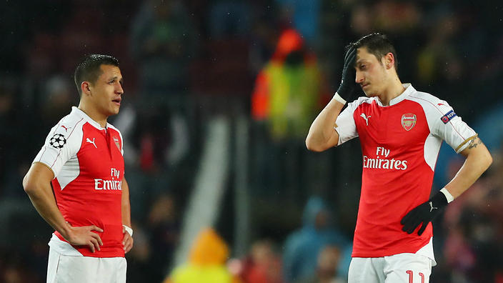 If Arsenal are to get anything from Sunday's game, their dynamic duo needs to produce. (Photo via Getty Images)