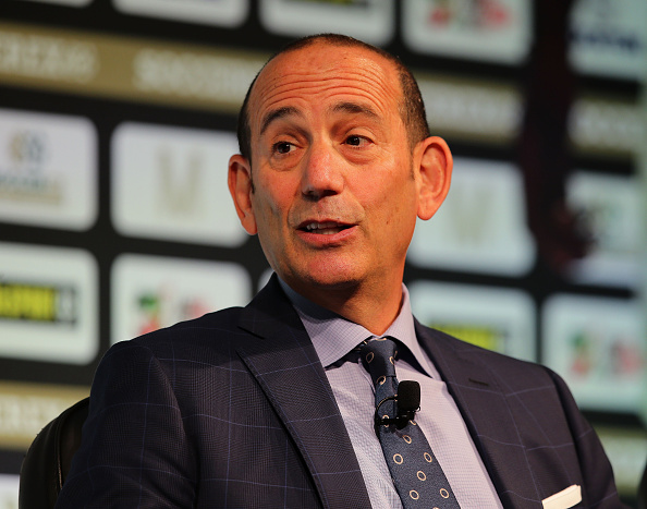 Don Garber is a firm believer in the growth of Major League Soccer into becoming one of the best soccer leagues in the World.  (Photo by Daniel Smith/Getty Images)