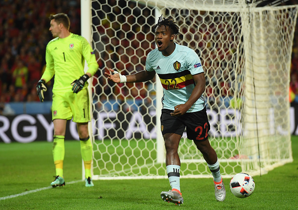 Batshuayi's arrival gives a reliable backup, or as rumoured, strike-partner for Costa up-front. (Photo by Matthias Hangst/Getty Images)