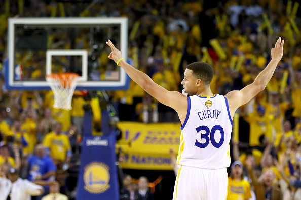 Curry's technical prowess, combined with his rather normal looking physical shape, makes him much more relevant to the fans who can't connect with the 7-feet NBA superstar or 300 lb linebacker. ( Photo by Ezra Shaw/Getty Images )
