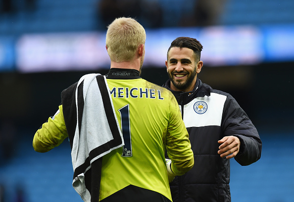 Leicester's players are significantly upgraded in FIFA 17, 100% of which can be attributed to their miraculous run to the Premier League title last season. (Photo via Getty Images)