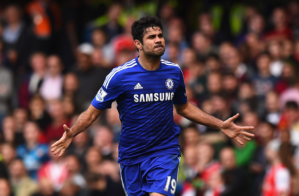 Diego Costa absolutely bombarded opposition defences during his first season at Stamford Bridge. (Photo via Getty Images)