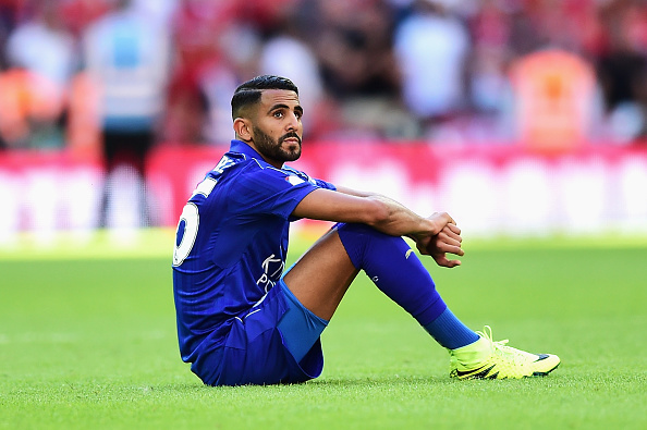 Mahrez has been pretty bland during the preseason. (Photo by Alex Broadway/Getty Images)