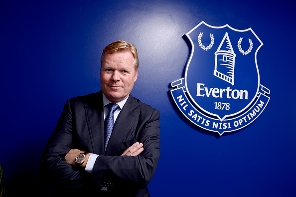 Will Ronald Koeman be enough to improve on the Toffees' ranking from last campaign? (Photo via Getty Images)