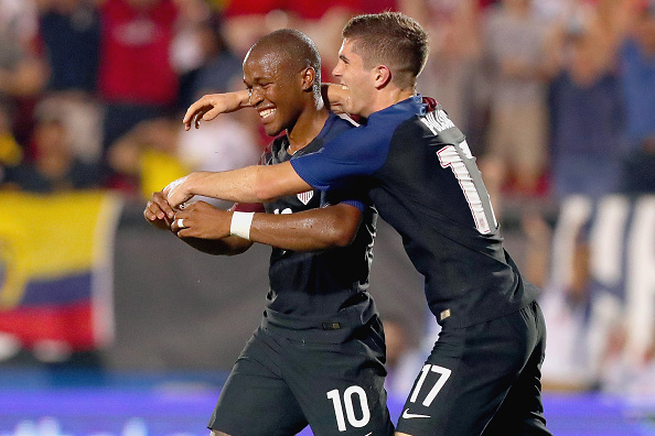 Pulisic and Nagbe are yet to receive any meaningful game time so far in this tournament. (Photo by Tom Pennington/Getty Images)