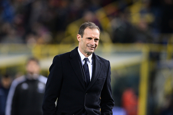 BOLOGNA, ITALY - FEBRUARY 19:  Massimiliano Allegri head coach of Juventus FC looks on at the end of the Serie A match between Bologna FC and Juventus FC at Stadio Renato Dall'Ara on February 19, 2016 in Bologna, Italy.  (Photo by Mario Carlini / Iguana Press/Getty Images)