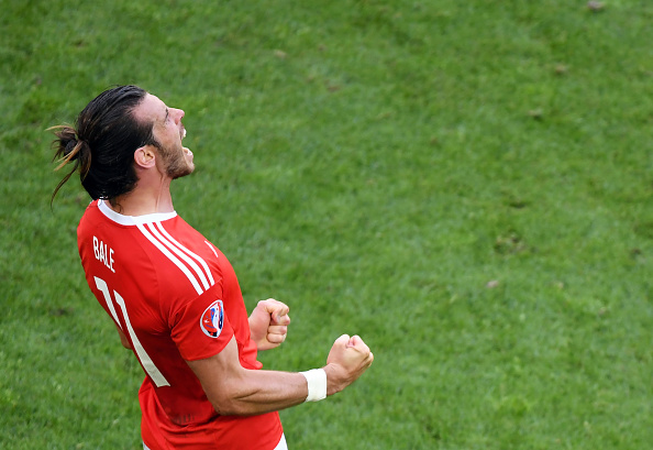 Gareth Bale is on fire for Wales at the moment. (Photo by MEHDI FEDOUACH/AFP/Getty Images)