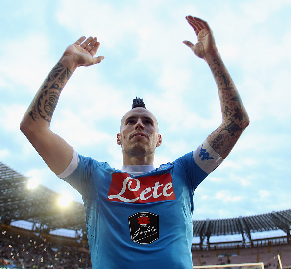 Hamsik ended last season with the highest number of assists. (Photo by Maurizio Lagana/Getty Images)
