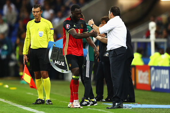 Pressure is piling up on Wilmots as he is yet unable to make this Belgian team tick. (Photo by Michael Steele/Getty Images)