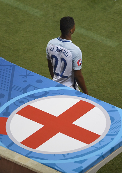 Hodgson took somewhere in the range of 10-20 mins thinking whether or not to bring Rashford on during England's defeat against Iceland. (Photo by Laurence Griffiths/Getty Images)