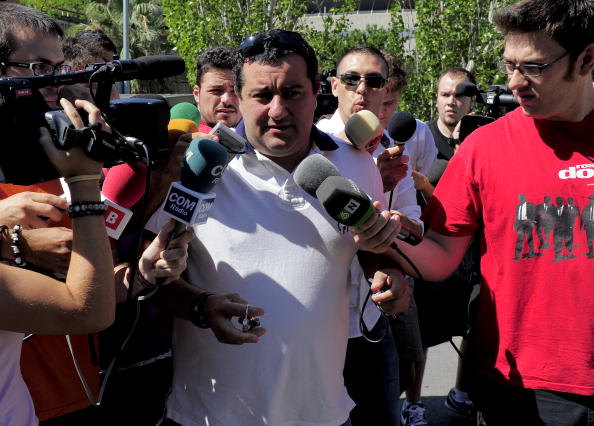 Mino Raiola's the perfect representative for modern day football agents. (Photo by JOSEP LAGO/AFP/Getty Images)