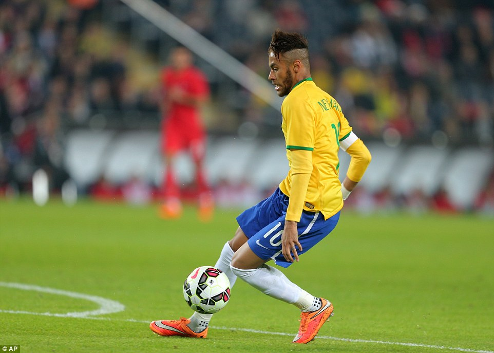 This Brazilian's immense talent justifies the dependency that Brazil have on him, although not completely.