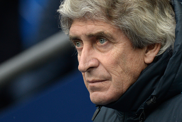Manchester City's manager Manuel Pellegrini. (Photo by OLI SCARFF/AFP/Getty Images)