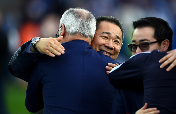 Vichai Srivaddhanaprabha has been revered since his takeover of Leicester. (Photo by Laurence Griffiths/Getty Images)