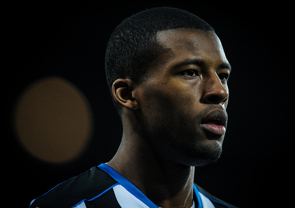 Wijnaldum's form has taken a dip, but he still remains one of Newcastle's best players. (Photo by Serena Taylor/Newcastle United via Getty Images)